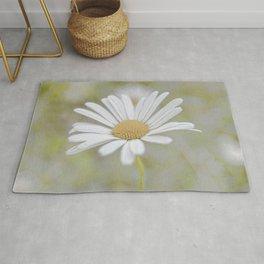 Daisy flower Rug