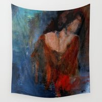 imagerybydianna Wall Tapestries featuring changing seasons by Imagery by dianna