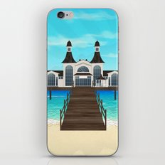 Seebrücke Sellin iPhone & iPod Skin