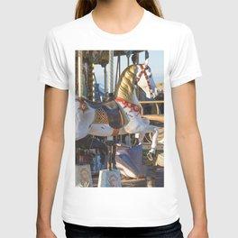 Wooden horse riding T-shirt