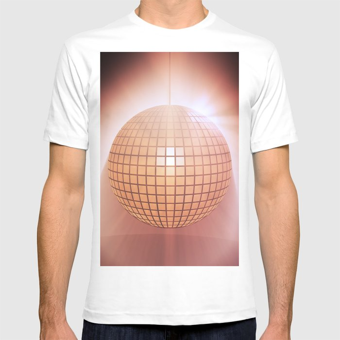 Sparkling Disco Ball T Shirt By Designprojects Society6