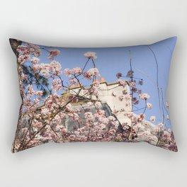 French Wildflowers Rectangular Pillow