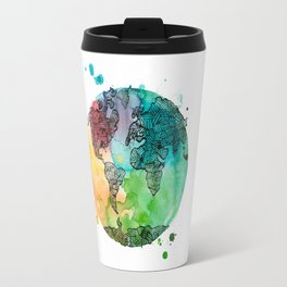 World Banded together Travel Mug