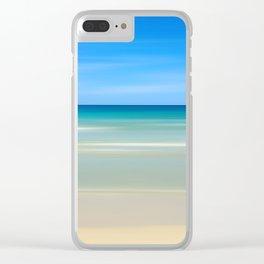 Beach Scene 8.12 Clear iPhone Case