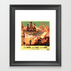 the Ale-iens Framed Art Print
