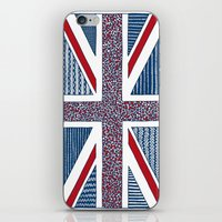 uk iPhone & iPod Skins featuring Lovely UK by Anita Ivancenko
