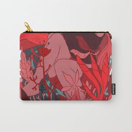 Girl in red Carry-All Pouch