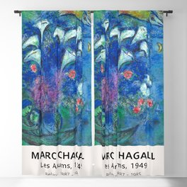 Marc Chagall - Les Arums, 1949 - Exhibition Poster, Museum Blackout Curtain