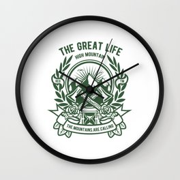 THE GREAT LIFE Wall Clock