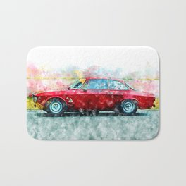 Alfa Giulia Racing Bath Mat