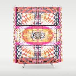 Gateway for Release:  Contemporary Abstract Shower Curtain