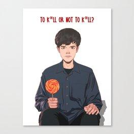 To kill or not to kill Canvas Print