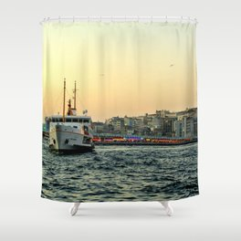 City of Mystery (2) Shower Curtain