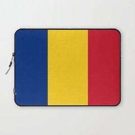 Flag of romania 3 -romania,romanian,balkan,bucharest,danube,romani,romana,bucuresti Laptop Sleeve