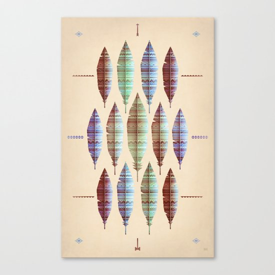native bling (variant) Canvas Print