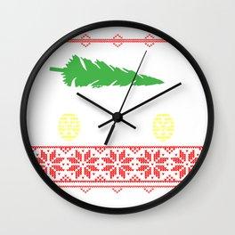 Car Ugly Christmas Gifts Wall Clock