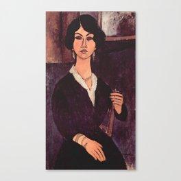 """Amedeo Modigliani """"Almaiisa Seated"""" Canvas Print"""