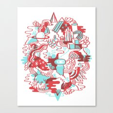 Space Deluxe Canvas Print