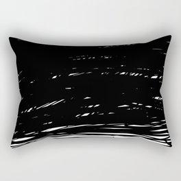 Scribbled Lines Rectangular Pillow