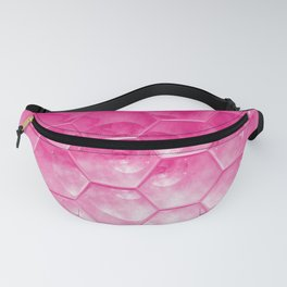 Pink Honeycomb Beehive Farmhouse Fanny Pack