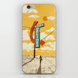 THE DELINES iPhone Skin