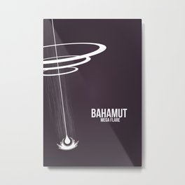 Final Fantasy X - Bahamut Metal Print