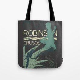 Books Collection: Robinson Crusoe Tote Bag