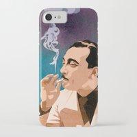 django iPhone & iPod Cases featuring Django Reinhardt by Kim Hoffnagle