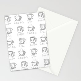 Hot Drinks Stationery Cards