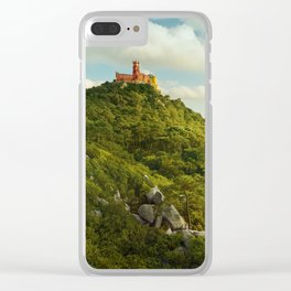 Pena Forest Clear iPhone Case