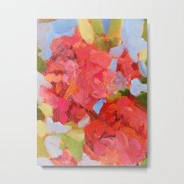 Coral Blooms Metal Print