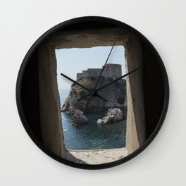 Welcome to Kings Landing Wall Clock
