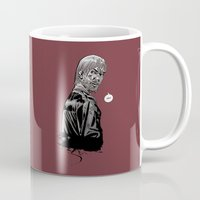rick grimes Mugs featuring The Walking Dead Rick Grimes by Cursed Rose