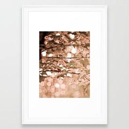 Dappled Sun Framed Art Print