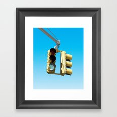 Traffic Lights Framed Art Print