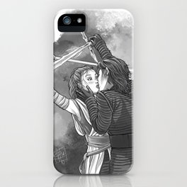 Sparring Kiss iPhone Case