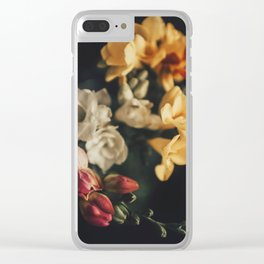 spring bouquet Clear iPhone Case
