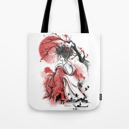 Geisha dream Tote Bag