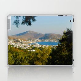 Patmos Island Greece - Bay View Laptop & iPad Skin
