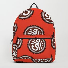 Cola Bottle Top Pattern Backpack