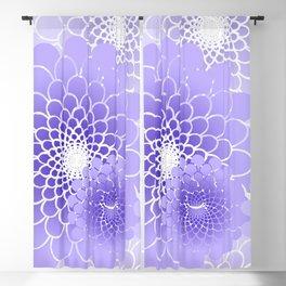 Spiral Flower pattern Blackout Curtain