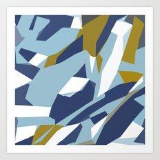 Hastings Navy Art Print