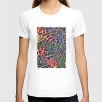 cracked T-shirts featuring Cracked Earth by Klara Acel