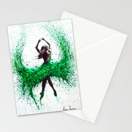 An Emerald Love Stationery Cards