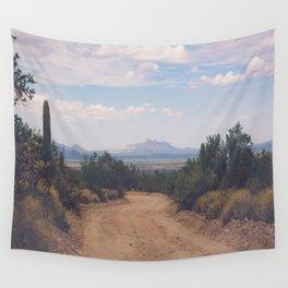 Down Desert Roads Wall Tapestry