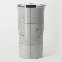 Fair Faced Concrete Travel Mug