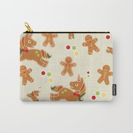 Christmas Unicorn Carry-All Pouch
