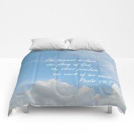 The Heavens Declare Comforters