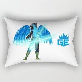 Luc Ready for Battle (No Background) Rectangular Pillow