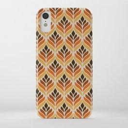Retro Flower Pattern iPhone Case